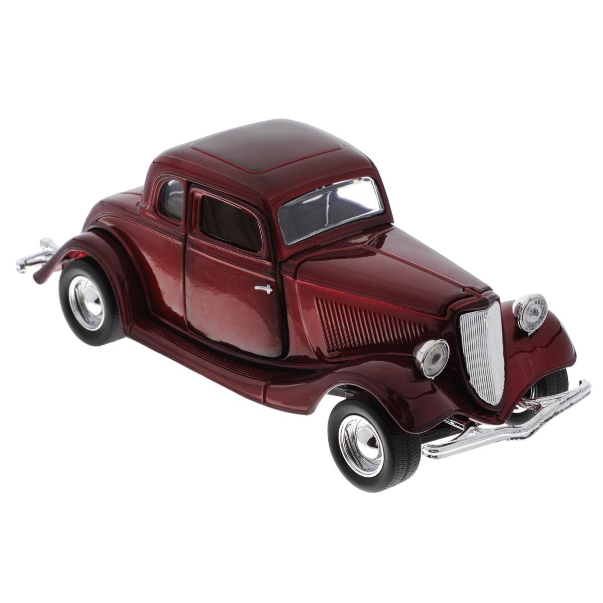MotorMax Модель автомобиля Ford Coupe 1932 motormax трансформирующийся в аэропорт