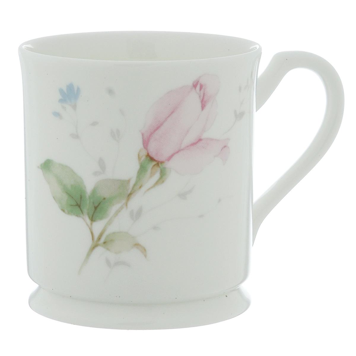 Кружка Narumi Апрельская роза, 220 мл115510Кружка Narumi Апрельская роза, выполненная из высококачественного фарфора, декорирована изображением розы. Изделие оснащено удобной ручкой. Кружка сочетает в себе оригинальный дизайн и функциональность. Кружка Narumi Апрельская роза согреет вас долгими холодными вечерами. Не рекомендуется использовать в посудомоечной машине и микроволновой печи. Объем: 220 мл.Диаметр (по верхнему краю): 8 см.Высота кружки: 9 см.