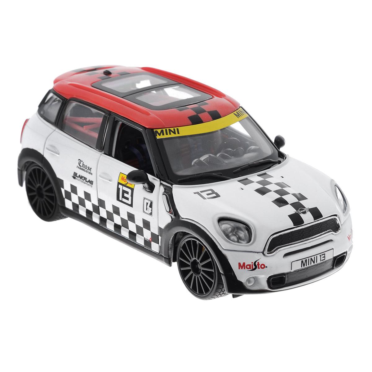 Maisto Модель автомобиля Mini Cooper Countryman