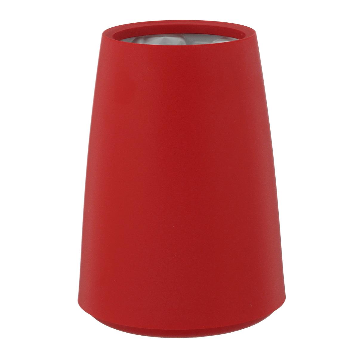 Ведерко-охладитель для бутылок VacuVin Rapid Ice Elegant, цвет: красный, 0,75 лVT-1520(SR)Элегантное ведерко-охладитель VacuVin Rapid Ice Elegant позволит вам мгновенно охладить вино без использования льда. Внутри пластиковой емкости находится многоразовый охлаждающий элемент, который охлаждает бутылку за несколько минут и сохраняет ее холодной часами. В ведерке-охладителе не используется ни лед, ни вода, поэтому на вашем столе не будет лужиц, а этикетка не размокнет и не отвалится.Храните охлаждающий элемент в морозилке.Объем: 0,75 л.Высота ведерка-охладителя: 12 см.