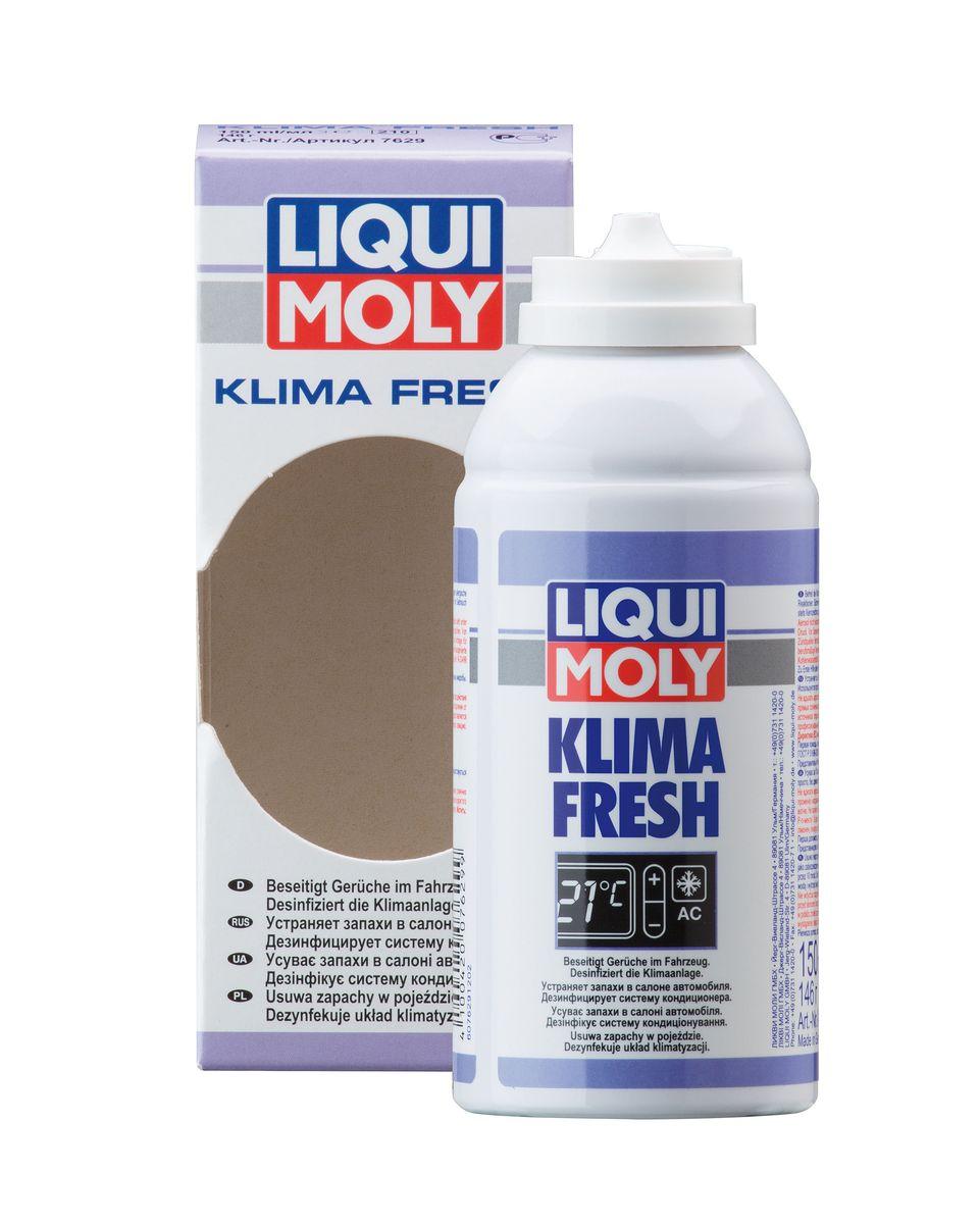 Освежитель кондиционера Liqui Moly Klima Fresh Plus, 150 мл2615S545JBОсвежитель кондиционера Liqui Moly Klima Fresh Plus устраняет в течение самого короткого времени (примерно 10 минут) неприятные запахи, вызванные наличием бактериями и грибков в кондиционерах, каналах вентиляции или в воздуховодах автомобилей и очищает кондиционер. Используется просто, без демонтажа пылевого фильтра. Оставляет приятный свежий аромат. Предупреждает простудные и аллергические заболевания. Состав: Р-п-мента-1,8-диен, этанол, воду, этаноламин. Содержит охваченные Киотским протоколом фторированные парниковые газы; ГФУ-134а. Товар сертифицирован.