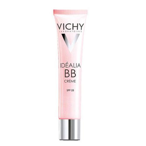 Vichy ВВ-крем Idealia, тон светлый, 40 мл879N10588Действует сразу в нескольких направлениях: увлажняет, придает сияние, разглаживает мелкие морщинки, выравнивает поверхность кожи и улучшает цвет лица. Специально для девушек, которые всегда находятся в движении, в средстве присутствует солнцезащитный фактор SPF 25. Один BB-крем может заменить тебе тональный крем, увлажняющее и солнцезащитное средства, а также основу под макияж.Одно из достоинств BB-крема Idealia термальная вода Vichy, входящая в состав средства. Она обладает успокаивающими и восстанавливающими свойствами, поэтому средство гипоаллергенно и подходит даже для самой чувствительной кожи.Возвращает сияниеУвлажняет 24 часаРазглаживает морщинкиВыравнивает текстуру кожиСокращает пигментные пятнаЗащищает от UVA/UVB лучей