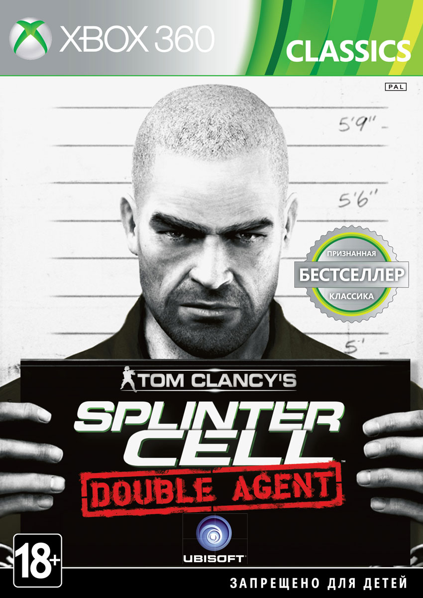 Tom Clancy's Splinter Cell: Double Agent. Classics (Xbox 360) tom clancy's splinter cell 3d