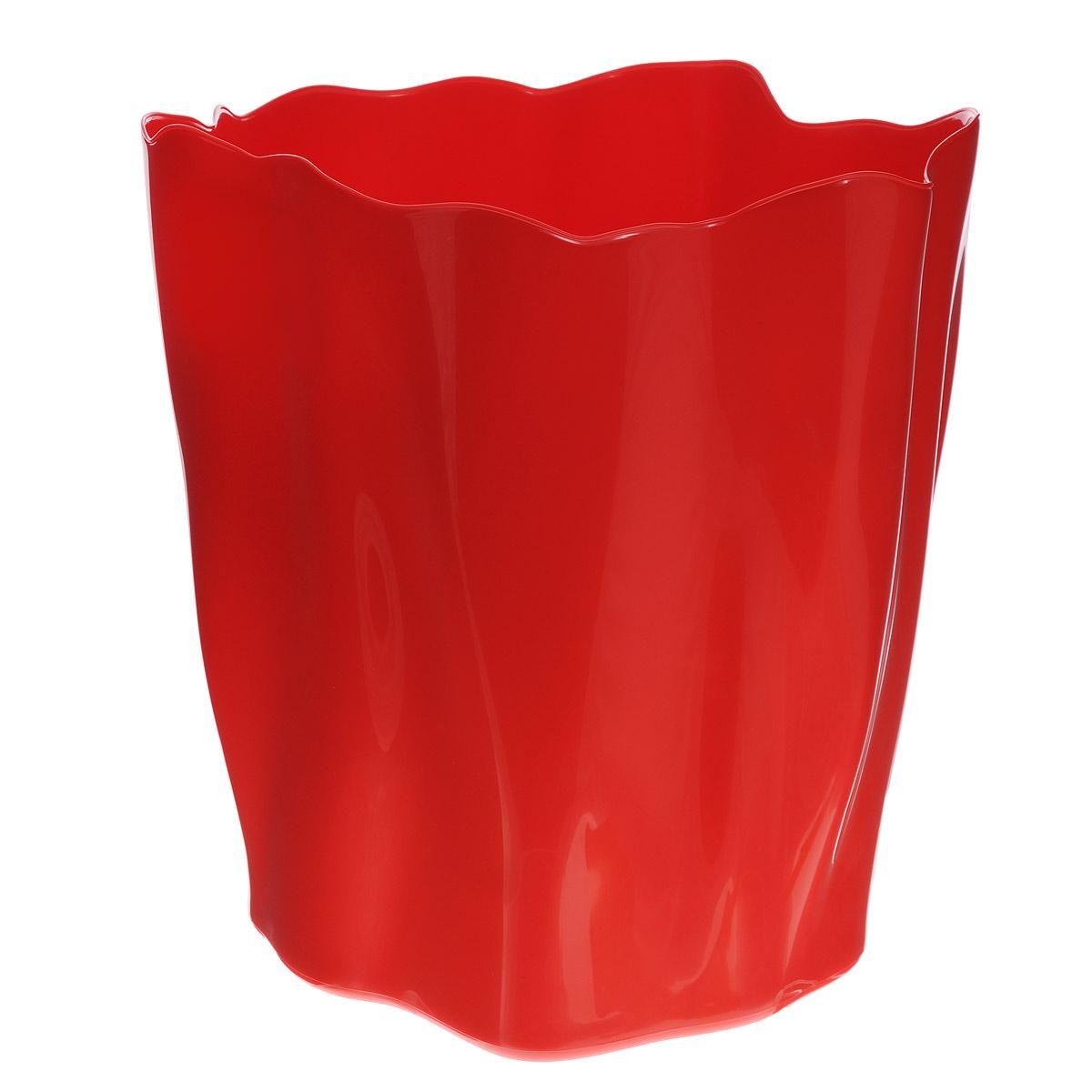 Органайзер Qualy Flow, большой, цвет: красный, диаметр 27 смCLP446Органайзер Qualy Flow может пригодиться на кухне, в ванной, в гостиной, на даче, на природе, в городе, в деревне. В него можно складывать фрукты, овощи, хлеб, кухонные приборы и аксессуары, всевозможные баночки, можно использовать органайзер как мусорную корзину, вазу. Все зависит от вашей фантазии и от хозяйственных потребностей! Пластиковый оригинальный органайзер пригодится везде!Диаметр: 27 см.Высота стенки: 28 см.