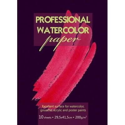 Папка для акварели Kroyter, 10 листов, формат А3. 05688ПЧA31007 003_красныйПапка для акварели Kroyter поможет овладеть этой техникой живописи. Бумага предназначена для рисования всеми видами водорастворимых красок, а также подойдет для рисования и художественно-графических работ карандашами, ручками и мелками. Бумага прекрасно впитывает влагу, что является необходимым условием для работы с акварелью. Комплект содержит 10 листов бумаги с крупным зерном, формата А3 и плотностью 200 г/м2, упакованных в картонную папку.
