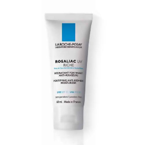La Roche-Posay Увлажняющий крем для сухой кожи лица , склонной к покраснениям Rosaliac UV Риш 40мл70278Эффективно защищает от ежедневного повреждающего действия UVA и UVB лучей на кровеносные сосуды. Повышает естественные защитные силы кожи, обладает успокаивающим действием, снижает реактивность кровеносных сосудов. Укрепляет стенки сосудов благодаря синтезу коллагена. Успокаивает, увлажняет кожу, улучшает микроциркуляцию, оказывает противоотечное действие. Устраняет сухость кожи, шелушение. Имеет легкий зеленоватый оттенок, который матирует покраснения. Имеет легкую нежирную текстуру, полностью впитывается. Прекрасная основа под макияж. Не содержит парфюмерных добавок.