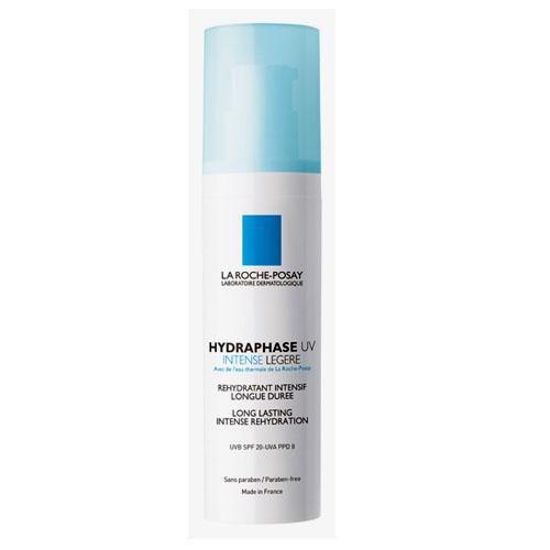 La Roche-Posay Увлажняющий флюид для лица Hydraphase UV Интенс Лежер 50 млFS-00897Мгновенное увлажнение плюс длительное интенсивное увлажнение** Клинический тест выполнен с участием 24 женщин от 18 до 60 лет. Оценка с помощью корнеометра.Формула содержит Фрагментированную Гиалуроновую Кислоту, которая оказывает двойное действие:- Интенсивное увлажнение и насыщение кожи влагой.- Усиление клеточного сцепления для длительного удержания влаги в коже.Система солнечных фильтров защищает кожу от ежедневного повреждающего воздействия UVA и UVB-лучей. Клеточные соединения сохранены и защищены. Обеспечено длительное увлажнение кожи.