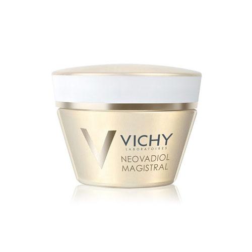 Vichy Питательный бальзам, повышающий плотность кожи Neovadiol GF Мажистраль, 50 млFS-00103Неовадиол Мажистраль питательный бальзам, повышающий плотность кожи мгновенно смягчает, придавая ощущение комфорта. Легко впитывается, не оставляя жирных следов. День за днем плотность кожи восстанавливается.Содержит комплекс восстанавливающих масел, который восполняет дефицит липидов и придает насыщенную текстуру бальзама:- Масло Ши, обогащенное Омега 6 и 9, активизирует выработку липидов в эпидермисе.- Масло семян Картамуса, обогащенное Омега 3,6 и 9 стимулирует синтез липидов.- Масло рисовый отрубей, обогащенное Омега 6 и 9, питает и придает коже мягкостьЭффективность: Восстанавливает все слои кожи через 10 дней Делает овал лица четким. Подтверждено 86% женщин Делает кожу упругой и эластичной. Подтверждено 92% женщин