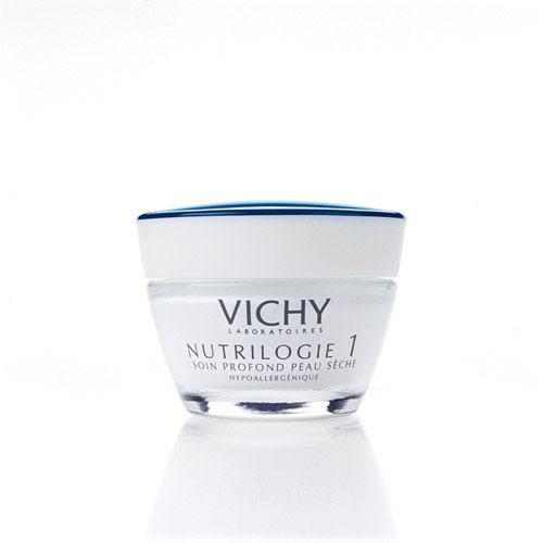 Vichy Kрем-уход глубокого действия для сухой кожи Nutrilogie 1, 50 мл7172111Действует на первопричину сухости кожи. Восстанавливает барьерные свойства эпидермиса за счёт повышения уровня синтеза кожей собственных керамидов и липидов. Устраняет ощущение стянутости. Увлажняет, питает, смягчает, ухаживает за сухой кожей. Защищает от неблагоприятных внешних воздействий, в том числе от обветривания и от обмораживания. Кожа сухого типа начинает чувствовать себя более комфортно. Протестировано на чувствительной коже. Подходит в качестве основы под макияж.