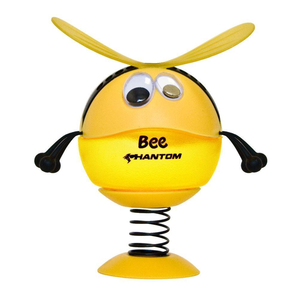 Ароматизатор Phantom Bee, лимонK100•Подвижная конструкция • Ароматическая основа - гель • Французская парфюмерия. Срок действия - 50 дней. • Усовершенствованная конструкция - надежное крепление всех деталей к корпусу Пластико, ароматическая отдушка