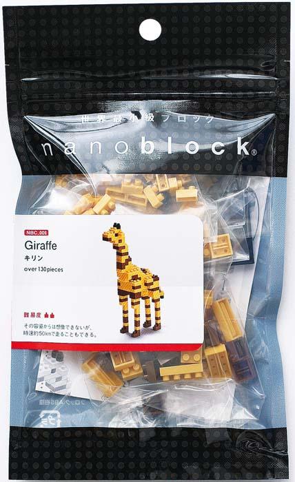 NanoBlock Мини-конструктор Жираф