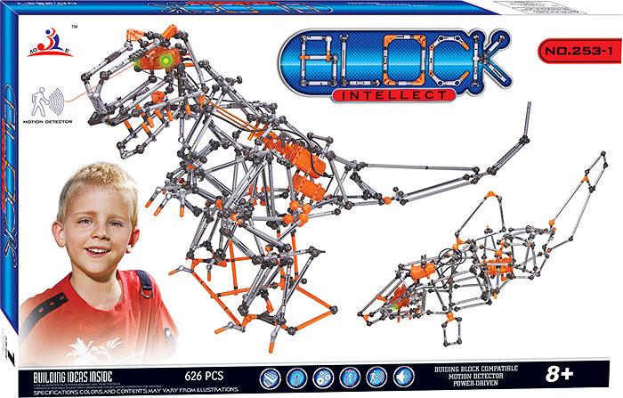 Intellect Block Конструктор Динозавр