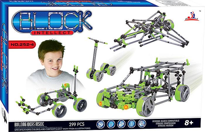 Intellect Block Конструктор 252-4