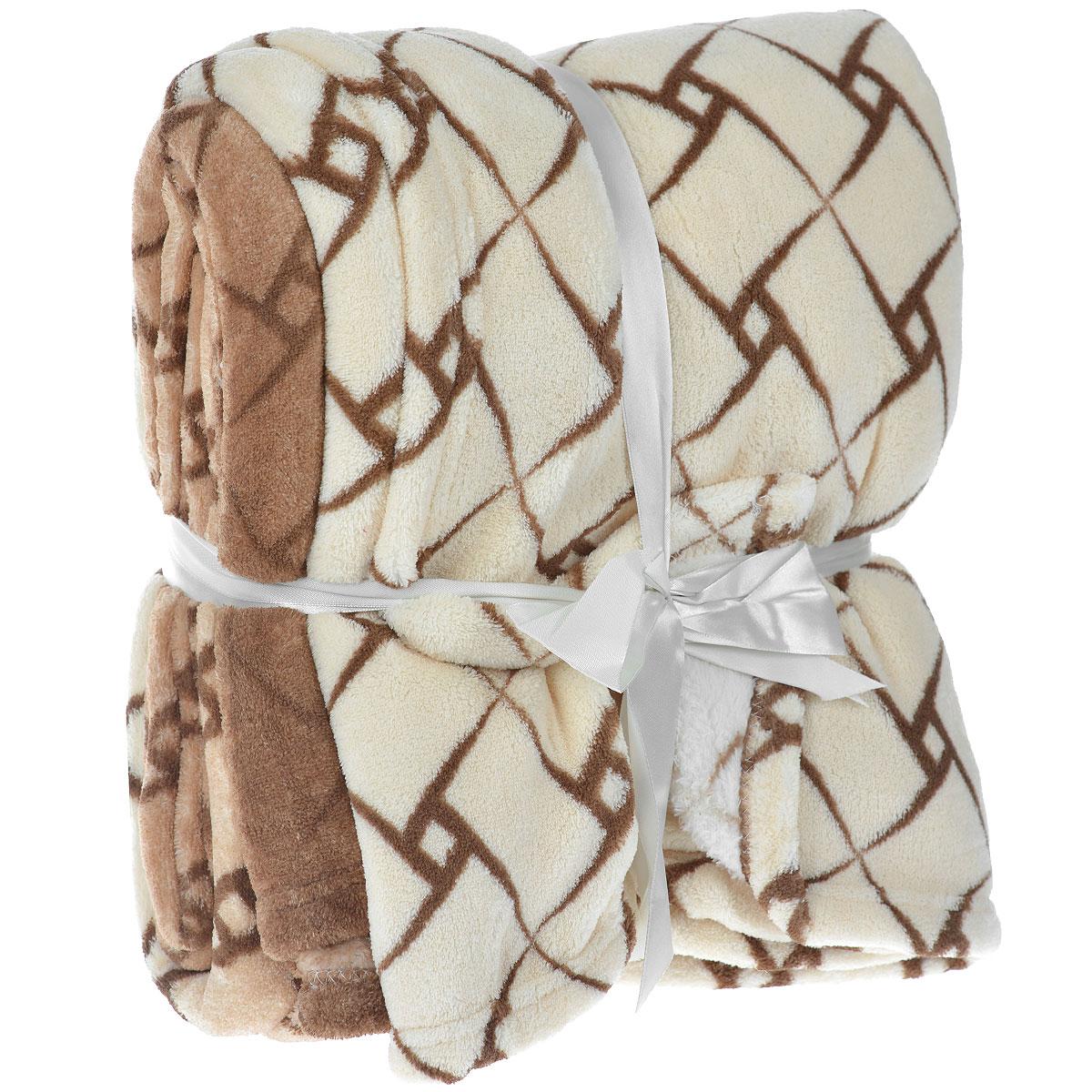 Плед Mona Liza Irish, 180 см х 220 см4630003364517Плед Mona Liza Irish выполнен из материала велсофт и оформлен красивым узором. Велсофт - это мягкая ворсовая ткань. Для ее изготовления используется полиэстеровая тонкая нить, что позволяет изготовить ткань очень прочную, с длинным ворсом, но при этом очень легкую. Ткань имеет фактуру велюра, приятная на ощупь, мягкая и слегка пушистая, но при этом очень легкая, хорошо сохраняет тепло, устойчива к стирке и износу. Такой плед гармонично впишется в интерьер вашего дома и создаст атмосферу уюта и комфорта. Он согреет в прохладную погоду и будет превосходно дополнять интерьер вашей спальни. Прекрасная идея для подарка, ведь плед - это такой подарок, который будет всегда актуален, особенно для ваших родных и близких, ведь вы дарите им частичку своего тепла!