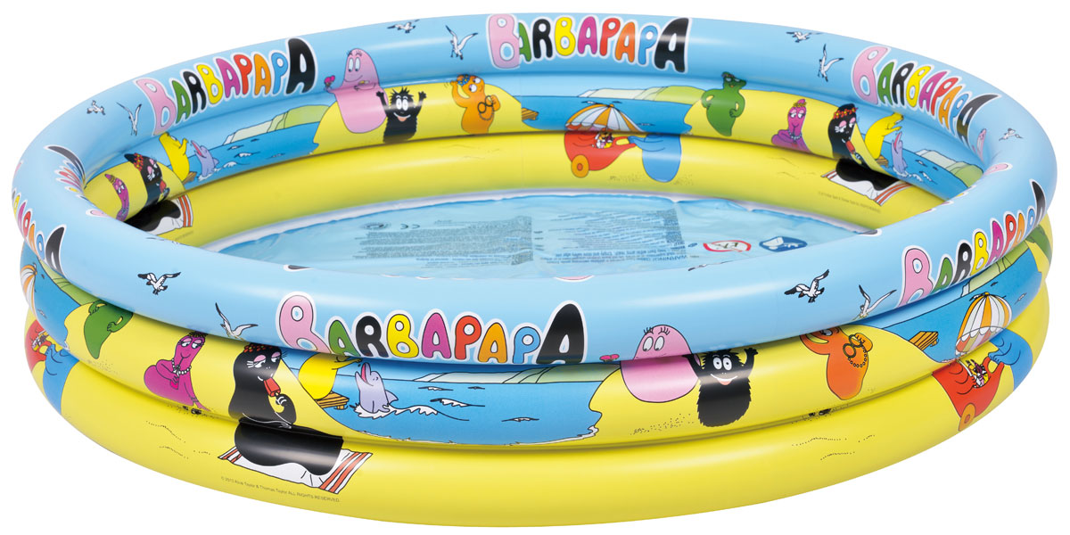 Бассейн надувной Jilong Barbapapa 3 - Ring, 150 см х 30 см09840-20.000.00Круглый надувной бассейн Jilong Barbapapa 3 - Ring предназначен для детского и семейного отдыха на загородном участке. Отлично подойдет для детей от 3 лет. Бассейн изготовлен из прочного ПВХ.Комфортный дизайн бассейна и приятная цветовая гамма сделают его не только незаменимым атрибутом летнего отдыха, но и оригинальным дополнением ландшафтного дизайна участка. В комплект с бассейном входит заплатка для ремонта в случае прокола.
