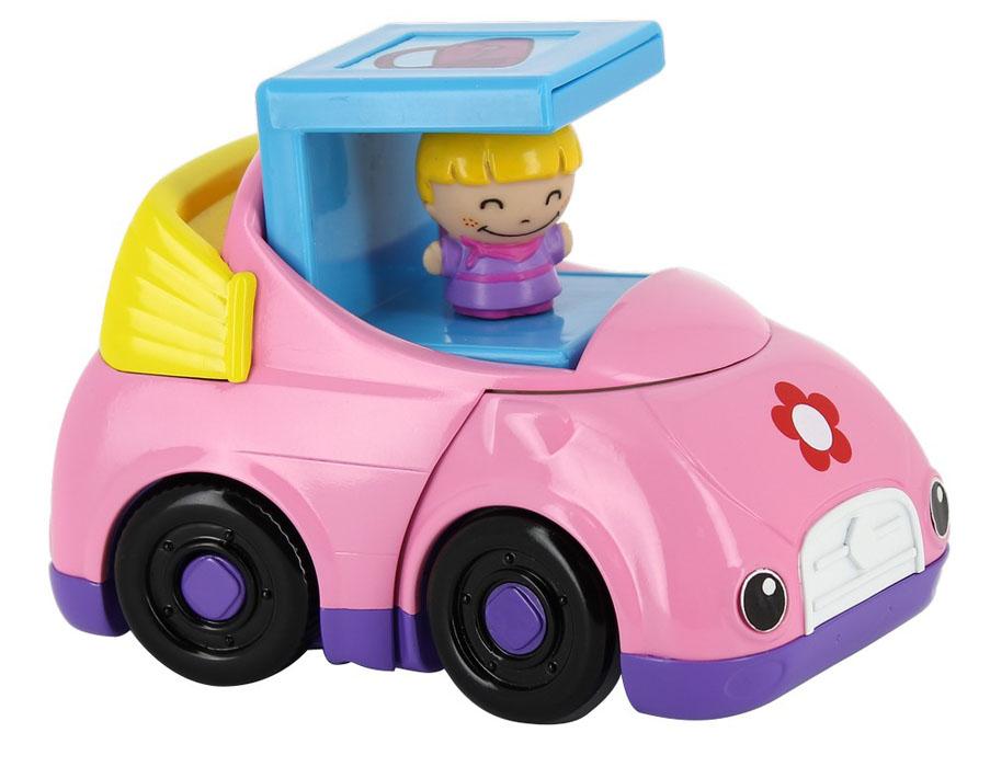 Kidz Delight Развивающая игрушка Машинка для девочек цвет розовый машинки kidz delight машинка полиция