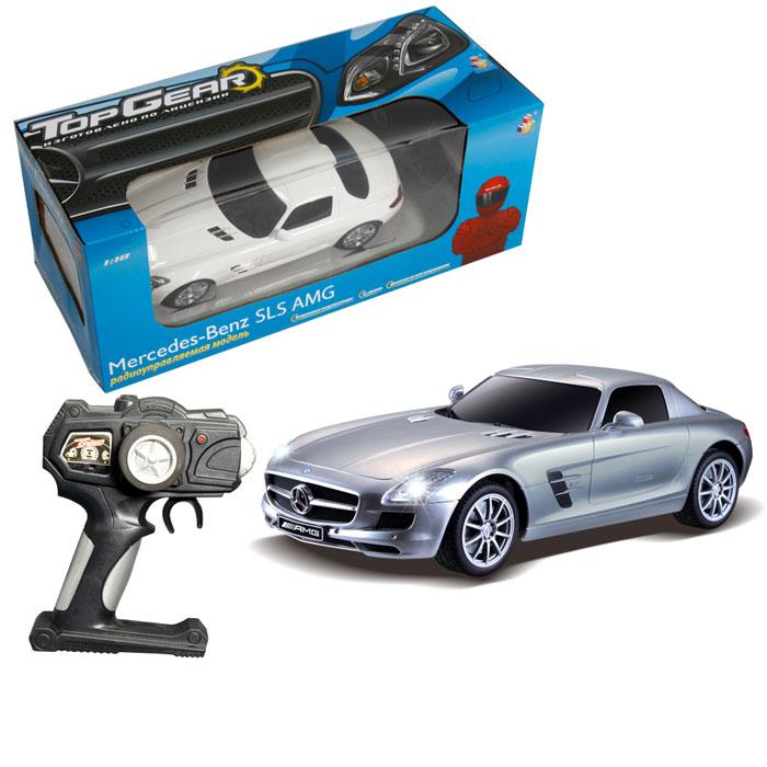 Машина на радиоуправлении Mercedes Benz SLS 1:18