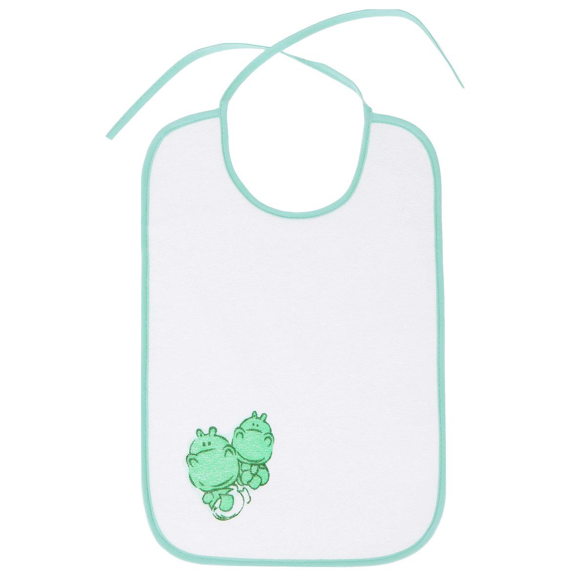 Нагрудник Курносики Великан, цвет: белый, мятный корсет под одежду большого размера