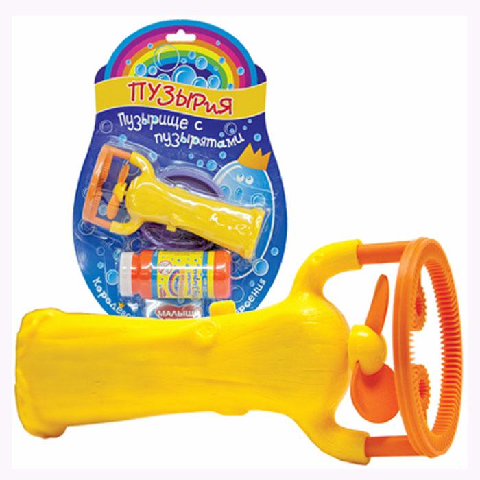 Набор для пускания мыльных пузырей Пузырище с пузырятами, желтый пузырия набор для пускания мыльных пузырей пузырьверк
