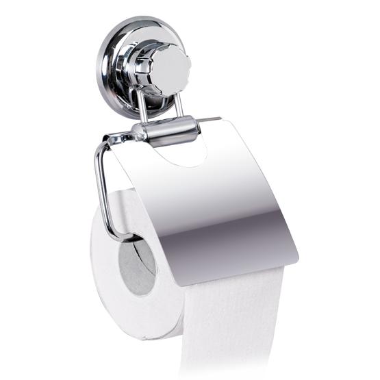 Держатель для туалетной бумаги настенный Tatkraft Mega Lock, 13 см х 3 см х 19 смCLP446Держатель для туалетной бумаги настенный Tatkraft Mega Lock выполнен из хромированной стали. Быстро и легко устанавливается благодаря вакуумному шурупу. Характеристики: Материал:хромированная сталь, пластик. Диаметр присоски:7,3 см Ширина держателя: 13 см. Размер металлической пластины: 11,7 см х 12,5 см.