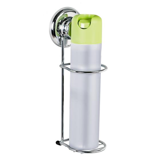 Держатель для освежителя воздуха Tatkraft Mega Lock, настенный, на вакуумной присоске97678Настенный держатель для освежителя воздуха Tatkraft Mega Lock с уникальной системой крепления на основе пружинно-затворного механизма позволяет избежать сверления стены и использования отвертки. Держатель изготовлен из хромированной стали. Перед креплением необходимо обезжирить поверхность, на которую будет устанавливаться вакуумная присоска, хорошо просушить данную поверхность.Настенный держатель для освежителя воздуха Tatkraft Mega Lock может быть использован только на ровной воздухонепроницаемой поверхности - плитке, стекле, металле, пластике, зеркале, оргстекле и т.п. Характеристики:Материал:хромированная сталь, пластик. Цвет:стальной. Диаметр вакуумной присоски:7,3 см. Размер держателя: 7 см х 10 см х 25 см. Диаметр отверстия для освежителя воздуха:6 см. Размер упаковки:33 см х 14,5 см х 10 см. Артикул: 11465.