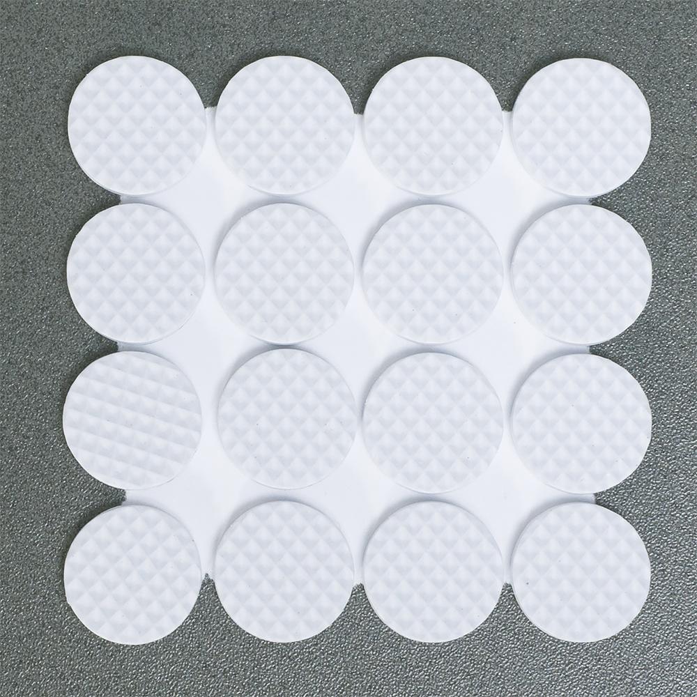 Защитные самоклеящиеся наклейки для мебели Tatkraft Rolf, цвет: белый, 32 шт54 009318Наклейки предназначены для защиты поверхности от царапин. Приклеиваются к обратной стороне предмета. В комплекте 32 наклейки. Диаметр: 2 см. Материал: пенорезина.