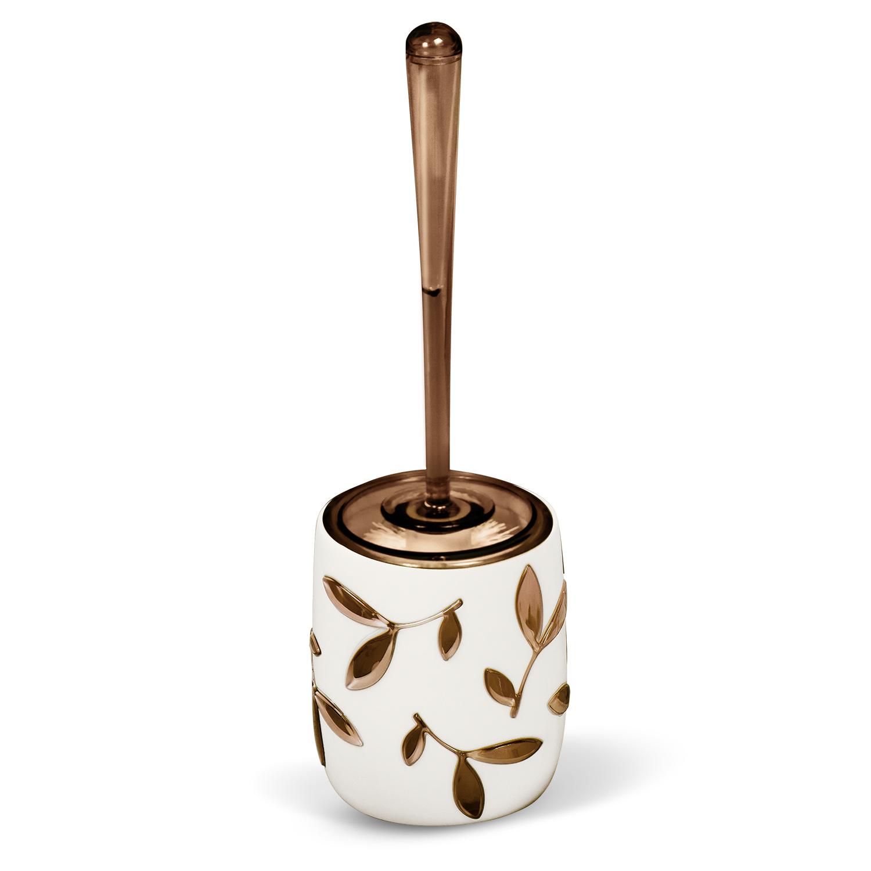 Гарнитур для туалета Tatkraft Immanuel Olive, цвет: серый, коричневый68/5/2Гарнитур для туалета Tatkraft Immanuel Olive- это необходимая вещь в каждом доме. Чаша с устойчивым основанием не позволяет жидкости пролиться. Большая круглая моющая часть ершика, выполненная из прочных полимерных волокон, позволяет легко чистить поверхность. Характеристики: Материал:акрил, пластик. Размер гарнитура:32 см х 7 см х 7 см. Длина ручки:22 см. Диаметр подставки:10 см. Высота подставки:12,5 см. Размер упаковки:36 см х 10 см х 10 см.