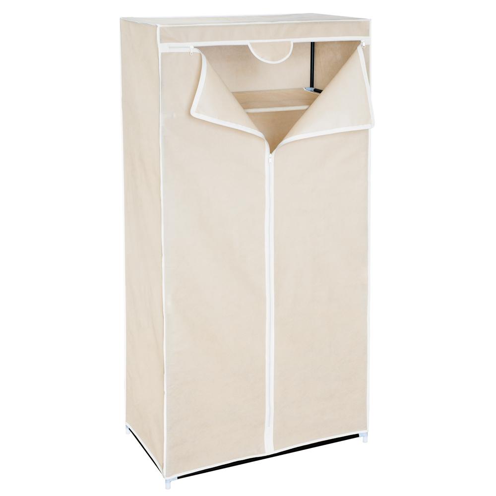 Мобильный шкаф для одежды Art Moon Ontario, цвет: мокко, 75 см х 46 см х 160 смTHN132NМобильный шкаф для одежды Art Moon Ontario, предназначенный для хранения одежды и других вещей, это отличное решение проблемы, когда наблюдается явный дефицит места или есть временная необходимость. Складной тканевый шкаф – это мобильная конструкция, состоящая из сборного металлического каркаса на который натянут чехол из нетканого полотна. Корпус шкафа сделан из легкой, но прочной стали, а обивка из полиэстера, который можно легко стирать в стиральной машинке. Каждая перекладина шкафа может выдержать вес до 15-20 кг (без деформации конструкции). Лучшее сырье и строгий контроль качества на производстве - вот то, благодаря чему шкафы компании Art Moon служат долгие годы своим обладателям!