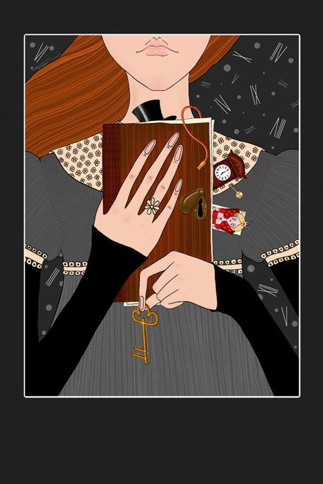 Открытка Miss ADiary. Автор Татьяна ПероваGC001.1Оригинальная дизайнерская открытка Miss ADiary выполнена из плотного матового картона. На лицевой стороне расположена репродукция картины художника Татьяны Перовой. На задней стороне имеется поле для записей. Такая открытка станет великолепным дополнением к подарку или оригинальным почтовым посланием, которое, несомненно, удивит получателя своим дизайном и подарит приятные воспоминания.