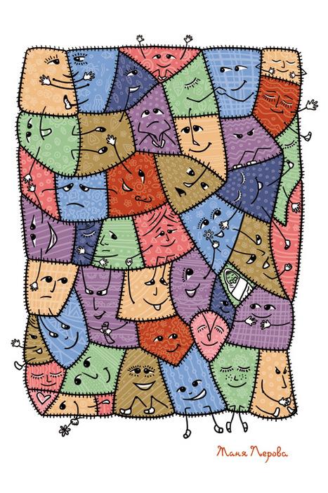 Открытка Заплаткина жизнь. Автор Татьяна ПероваGC007.1Оригинальная дизайнерская открытка Заплаткина жизнь выполнена из плотного матового картона. На лицевой стороне расположена репродукция картины художника Татьяны Перовой. На задней стороне имеется поле для записей. Такая открытка станет великолепным дополнением к подарку или оригинальным почтовым посланием, которое, несомненно, удивит получателя своим дизайном и подарит приятные воспоминания.