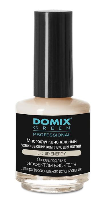 Domix Green Professional Многофункциональный ухаживающий комплекс для ногтей, 17 мл31244Domix Многофункциональный ухаживающий комплекс для ногтей 17мл. Средство скрывает дефекты, фиксирует отслоившиеся кромки, предупреждает изменение цвета ногтей. Входящие в состав средства масла, ценные экстракты и витамины, питают и укрепляют ослабленные ногти, способствуют восстановлению расслоившихся ногтей, устраняют ломкость и обеспечивают условия для роста сильных и здоровых ногтей.
