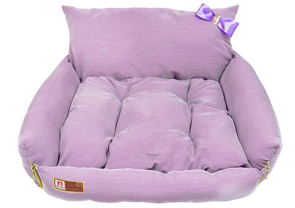 Лежак для собак и кошек Зоогурман Жемчужина, цвет: розовый, 40 см х 45 см х 40 см0120710Оригинальный и мягкий лежак для кошек и собак Зоогурман Жемчужина обязательно понравится вашему питомцу. Лежак выполнен из приятного материала. Внутри - мягкий наполнитель, который не теряет своей формы долгое время.Внутри лежака мягкий съемный матрасик. Спинка лежака украшена небольшим бантиком. За изделием легко ухаживать, можно стирать вручную или в стиральной машине при температуре 40°С. Материал: вельветовая, микроволоконная ткань.Наполнитель: гипоаллергенное синтетическое волокно. Наполнитель матрасика: шерсть.Размер: 40 см х 45 см х 40 см.