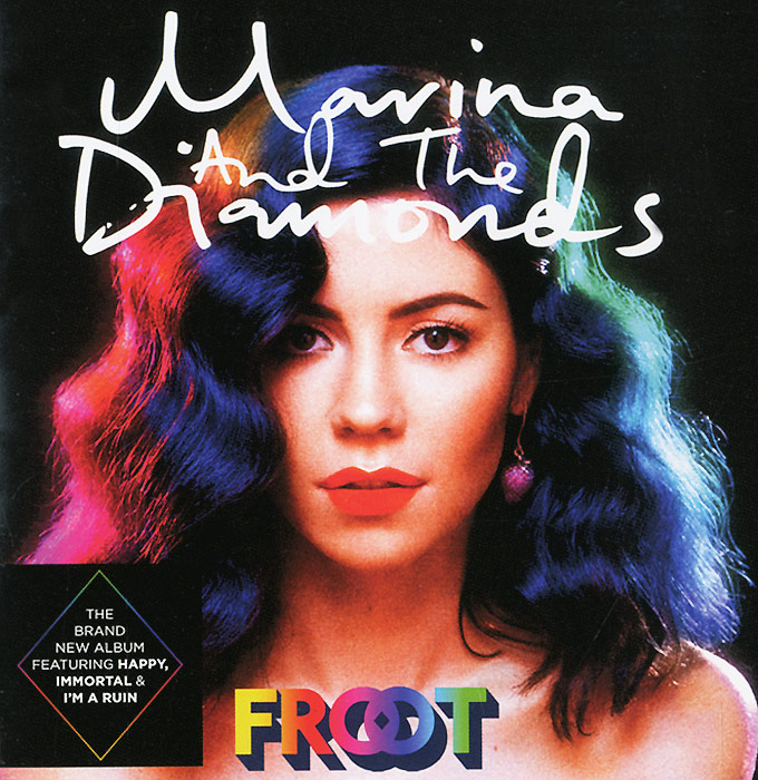 Marina And The Diamonds Marina & The Diamonds. Froot diamonds cd