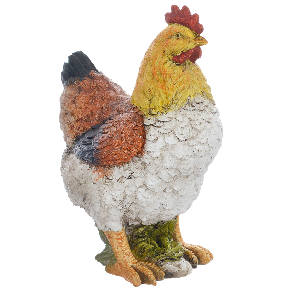Фигурка декоративная Molento Курочка, высота 18 см695295Декоративная фигурка Molento Курочка, изготовленная из полистоуна, выполнена в виде курицы. Такая фигурка станет отличным дополнением к интерьеру.Вы можете поставить фигурку в любом месте, где она будет удачно смотреться, и радовать глаз. Кроме того, фигурка Курочка станет чудесным сувениром для ваших друзей и близких. Размер фигурки: 12 см х 8 см х 18 см.