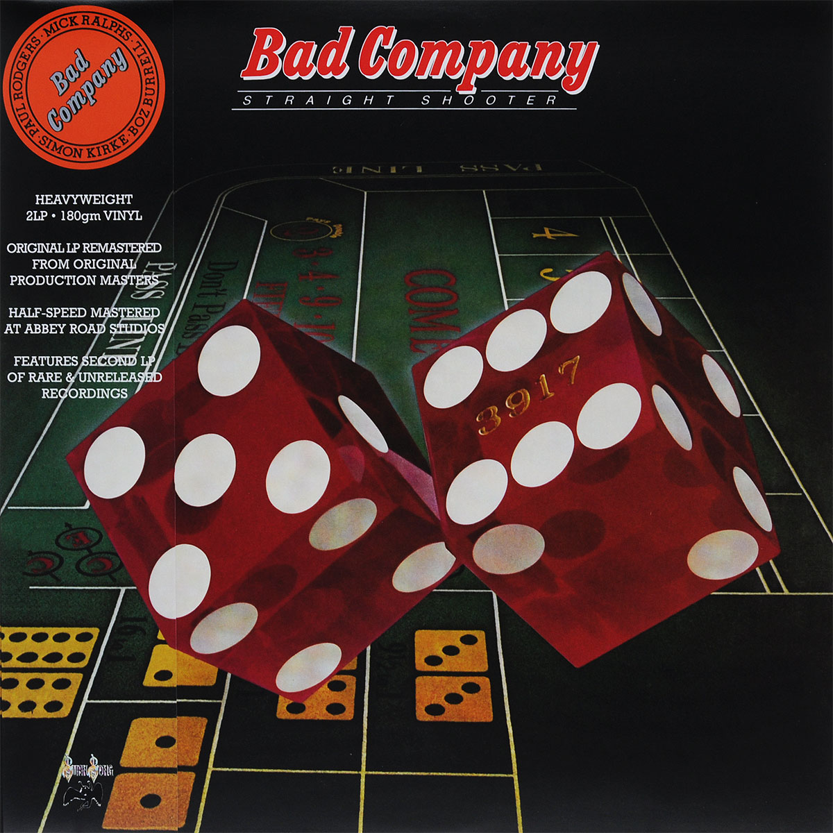 Bad Company Bad Company. Straight Shooter (2 LP) bad company bad company run with the pack 2 lp 180 gr