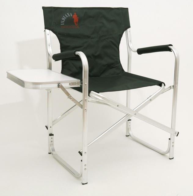 Кресло складное Indiana INDI-033T, с боковым столиком, 50 см х 63 см х 84 смKOCAc6009LEDСкладное кресло Indiana INDI-033T - идеальный вариант для дачников и рыболовов, прекрасно подходит для кемпинга, пикников и отдыха на природе. Каркас кресла выполнен из алюминиевой трубы. Тканевые элементы кресла изготовлены из стойкого к ультрафиолетовому излучению материала. Мягкие профилированные подлокотники оснащены защитным чехлом. Сбоку имеется откидной столик. Конструкция ножек с поперечной трубой придает дополнительную устойчивость креслу, препятствует его проваливанию в песок или рыхлую землю. Кресло легко складывается и раскладывается. В сложенном состоянии занимает минимум места, что очень удобно при хранении и транспортировке. Максимальная нагрузка: 120 кг. Размер кресла (в разобранном виде): 50 см х 63 см х 84 см. Размер кресла (в собранном виде): 49 см х 90 см х 12 см. Размер откидного столика: 41 см х 25 см.