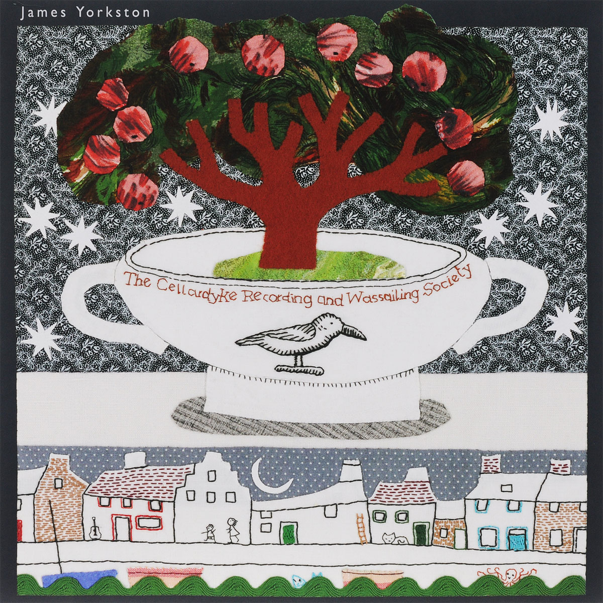 James Yorkston. The Cellardyke Recording And Wassailing Society (2 LP) james and the giant peach