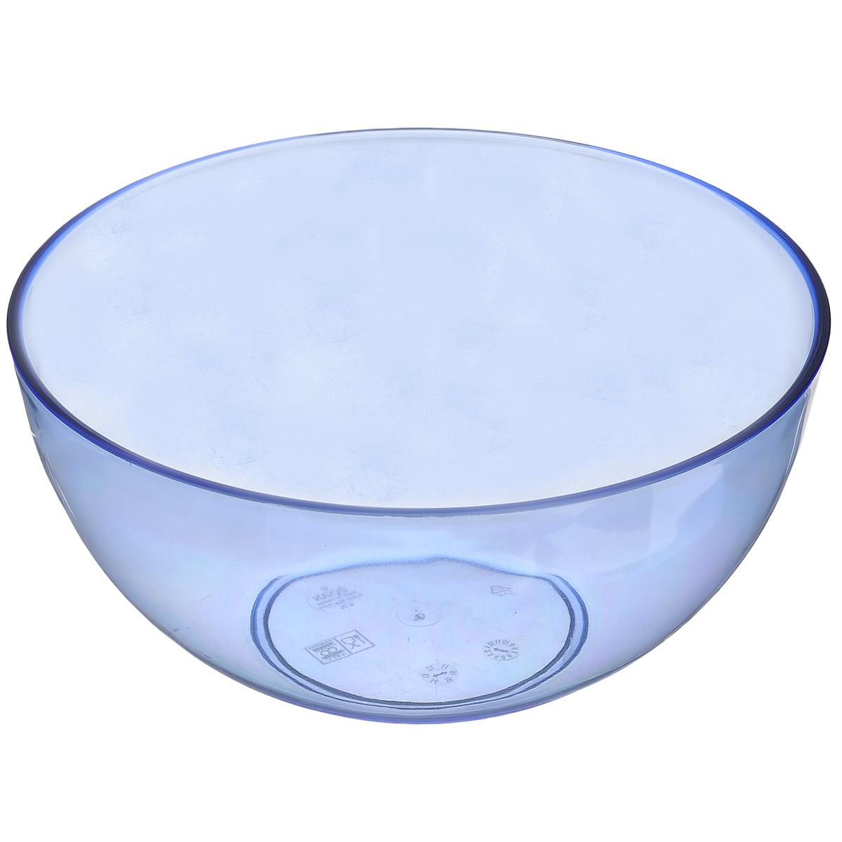 Салатник Ucsan, цвет: синий, 4 л115510Салатник Ucsan изготовлен из полипропилена и идеально подходит для сервировки стола.Салатник Ucsan не только украсит ваш кухонный стол и подчеркнет прекрасный вкус хозяйки, но и станет отличным подарком. Можно мыть в посудомоечной машине. Диаметр салатника: 24 см. Высота салатника: 12 см. Объем салатника: 4 л.