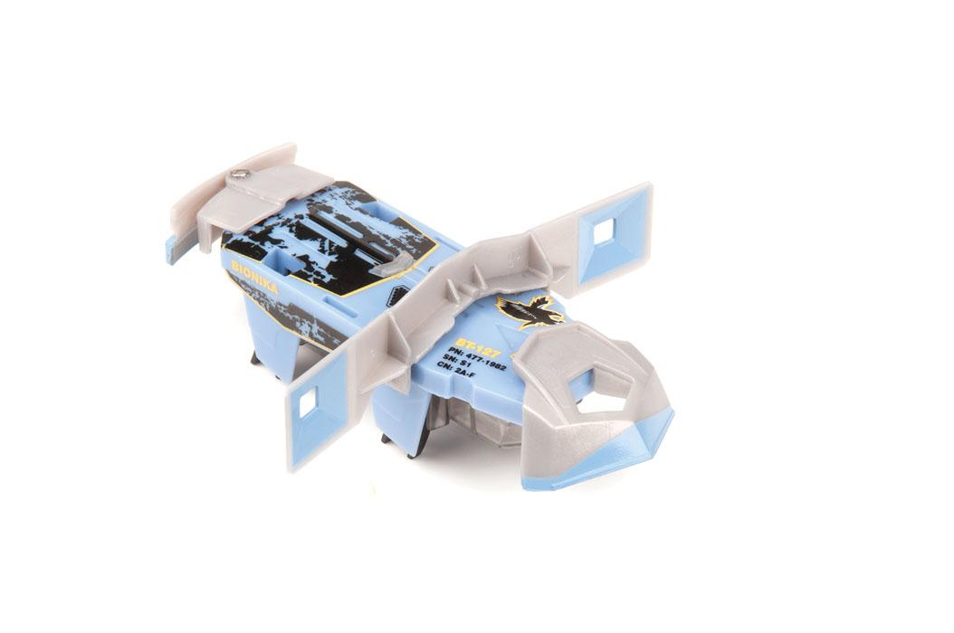 Микро-робот Hexbug Warriors. Bionika, цвет: синий. S1-2A hexbug игровой набор с микро роботами нано v2 ланчпад neon