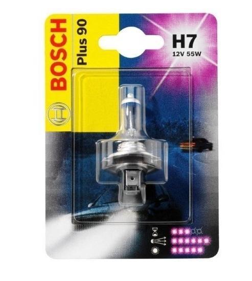 Лампа Bosch H7 +90 1987301078PANTERA SPX-2RSНовые лампы Bosch для галогенных фар освещают дорогу интенсивным белым светом, который очень близок по свойствам к дневному освещению.Благодаря этому глаза водителя не теряют фокусировки и меньше устают даже во время долгих поездок в темное время суток. Новые лампы отличаются высокой яркостью и могут давать до 50% больше света, чем стандартные галогенные фары. Лампы Bosch доступны в вариантах H1, H4 и H7. Серебряное покрытие ламп H4 и H7 делает их едва заметными за стеклами выключенных фар. Новые лампы выглядят наиболее эффектно в сочетании с фарами из прозрачного стекла и подчеркивают современный дизайн автомобилей. Увеличенная яркость и дальность освещения положительно сказывается на безопасности движения. В темное время суток или в сложных погодных условиях, таких как ливень или густой туман, водитель замечает опасную ситуацию намного раньше и на большем расстоянии, при этом лучше заметен и сам автомобиль с фарами Bosch. Напряжение: 12 вольт
