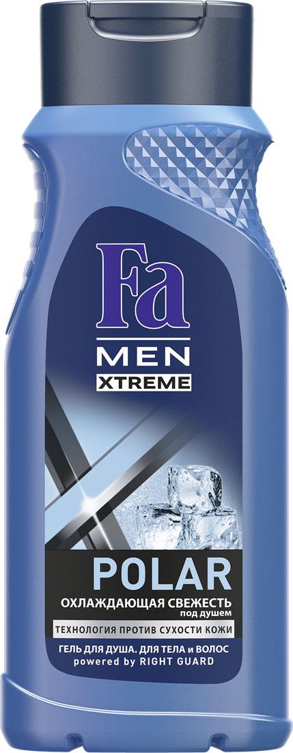 FA MEN Xtreme Гель для душа Polar, 250 млAC-2233_серыйИспытай ощущение экстремальной прохлады под душем отFa MEN Polar с охлаждающим эффектом.Инновационная технология Против Сухости Кожи придает свежесть иувлажняет кожу, предотвращая ощущение сухости.Особая формула с Ментолом обеспечивает ощущение прохлады. Подходит для тела и волос. Хорошая переносимость кожей подтверждена дерматологами. Также откройте для себя антиперспиранты Fa MEN Xtreme для непревзойденной защиты 72ч.