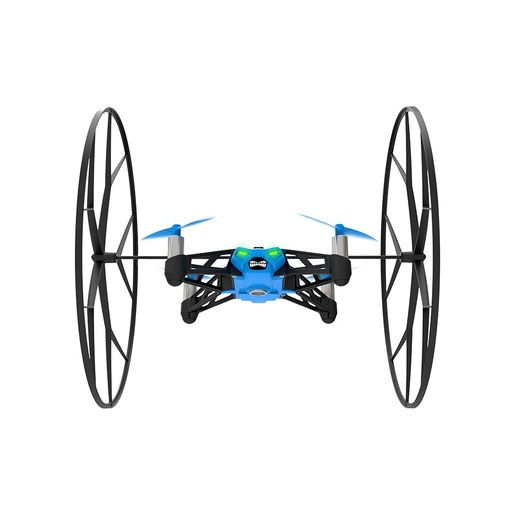 Parrot Квадрокоптер на радиоуправлении Rolling Spider цвет синий