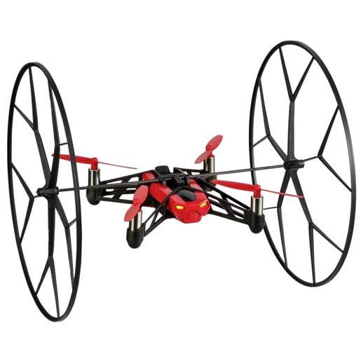 Parrot Квадрокоптер на радиоуправлении Rolling Spider цвет красный