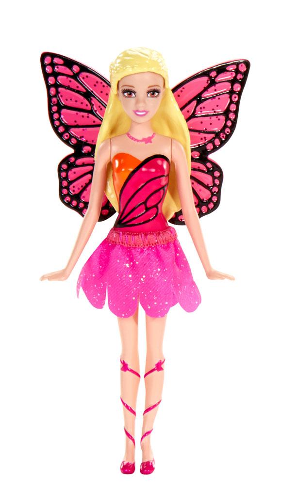 Barbie Мини-кукла Сказочная с крыльями