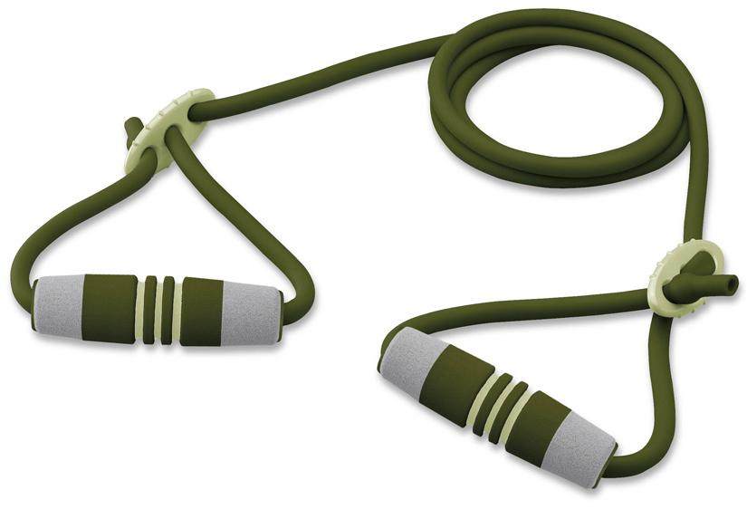 Эспандер трубчатый Ecowellness c регулируемой длинной и мягкими ручками, цвет: зеленый. QB-2022FN-B15032029Трубчатый эспандер Ecowellness прост в использовании и идеально подходит для аэробных тренировок, для поддержания мышц рук и груди в тонусе. Способствует развитию гибкости. Длина эспандера регулируется от 124 см до 220 см.Отличный подарок для любителей фитнеса.