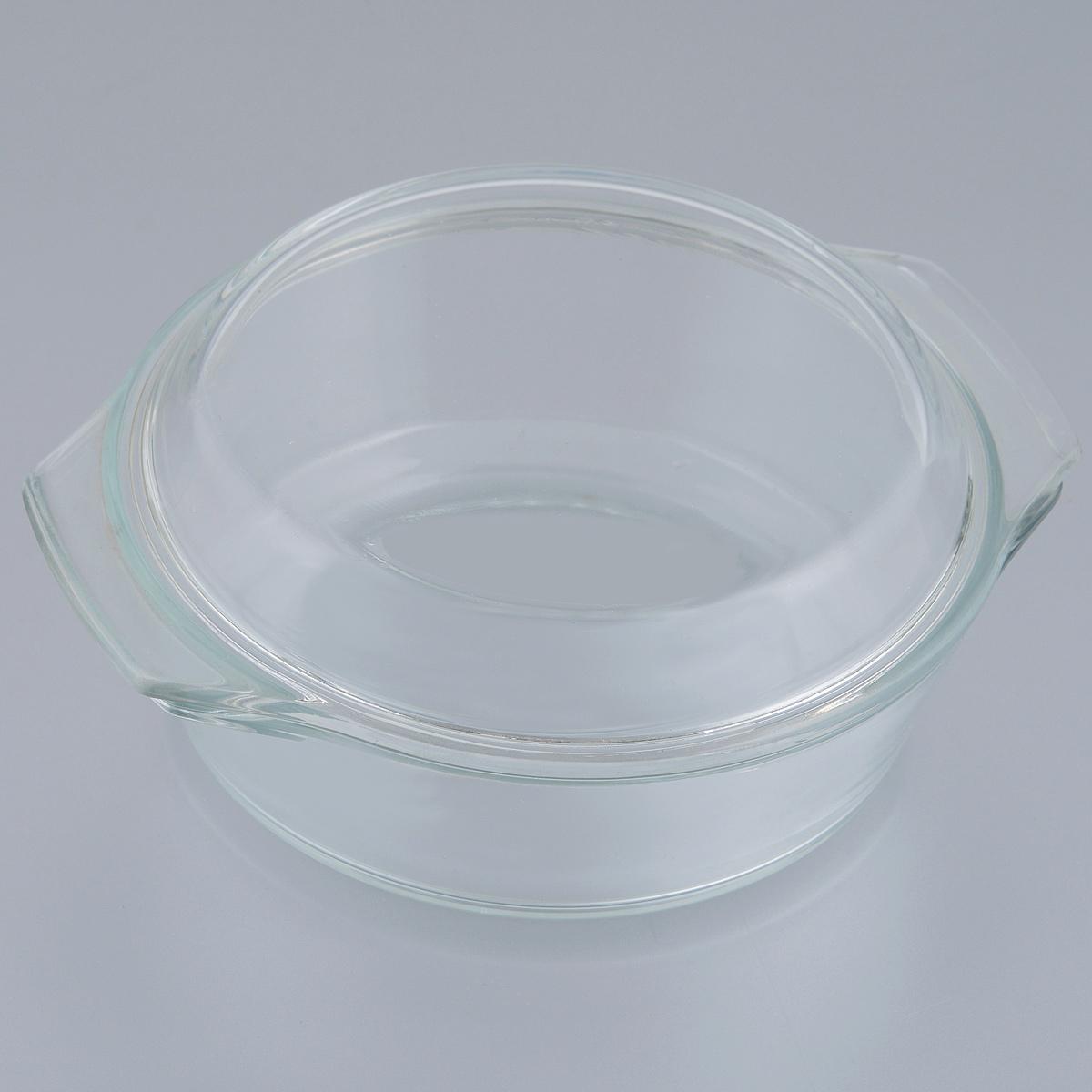 Кастрюля Appetite с крышкой, 0,7 л68/5/3Кастрюля Appetite изготовлена из экологически чистого жаропрочного стекла и оснащена крышкой, которую также можно использовать как отдельную емкость. Стекло - самый безопасный для здоровья материал. Посуда из стекла не вступает в реакцию с готовящейся пищей, а потому не выделяет никаких вредных веществ, не подвергается воздействию кислот и солей. Из-за невысокой теплопроводности пища в стеклянной посуде гораздо медленнее остывает. Стеклянная посуда очень удобна для приготовления, разогрева и хранения самых разнообразных блюд: супов, вторых блюд, десертов. Используя такую кастрюлю, вы можете не только приготовить в ней пищу, но и подать ее к столу, не меняя посуды. Благодаря гладкой идеально ровной поверхности посуда легко моется. Допускается нагрев посуды до 250°С.Можно использовать в микроволновой печи, духовом шкафу. Можно использовать для хранения в холодильнике и морозильной камере. Можно мыть в посудомоечной машине. Высота стенок кастрюли: 5,5 см. Высота кастрюли (с учетом крышки): 7,7 см. Ширина кастрюли (с учетом ручек): 17,7 см. Толщина стенок: 5 мм.Толщина дна: 5 мм.