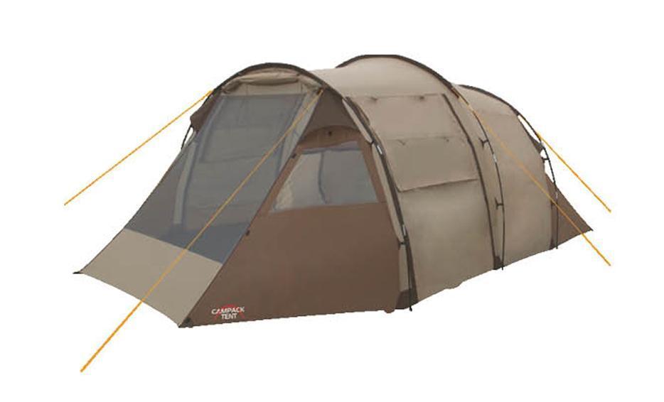 Палатка кемпинговая CAMPACK-TENT Land Voyager 4 (2013) (олива) арт.0037631