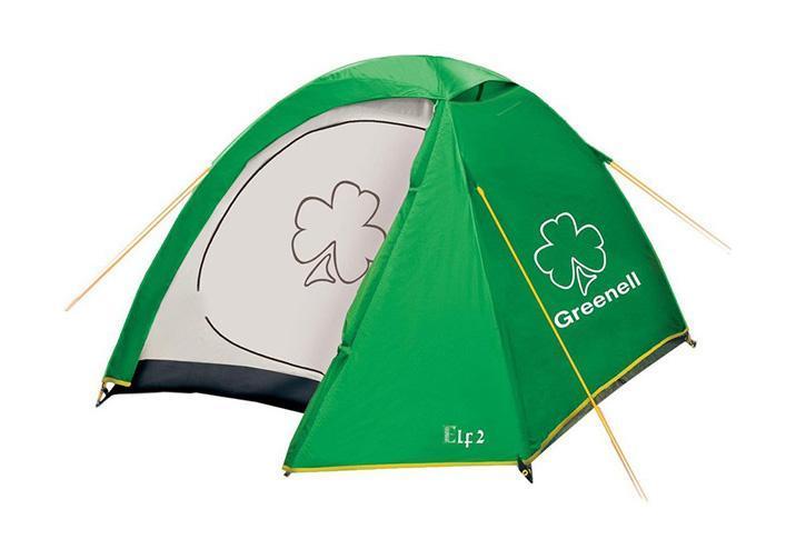 GREENELL Палатка Эльф 3 V3, цвет: зеленый. Арт.95510 палатки greenell палатка керри 2 v3