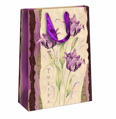 Пакет подарочный Правила Успеха Лиловые мечты, 25 х 35 х 9 смSCB390311Подарочный пакетПравила Успеха Лиловые мечты, изготовленный из плотной бумаги, станет незаменимым дополнением к выбранному подарку. Изделие украшено блестками. Дно укреплено плотным картоном, который позволяет сохранить форму пакета и исключает возможность деформации дна под тяжестью подарка. Для удобной переноски на пакете имеются две ручки из ткани.Подарок, преподнесенный в оригинальной упаковке, всегда будет самым эффектным и запоминающимся. Окружите близких людей вниманием и заботой, вручив презент в нарядном, праздничном оформлении.