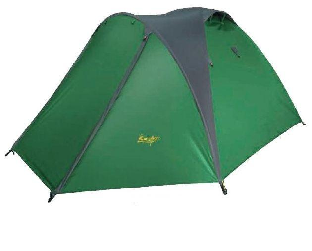 Палатка CANADIAN CAMPER EXPLORER 2 AL30200032Большая, просторная и комфортная палатка бренда Canadian Camper.Благодаря наличию третьей выносной дуги обладает большим тамбуром, его размеры позволяют разместить в нем все Ваше снаряжение.